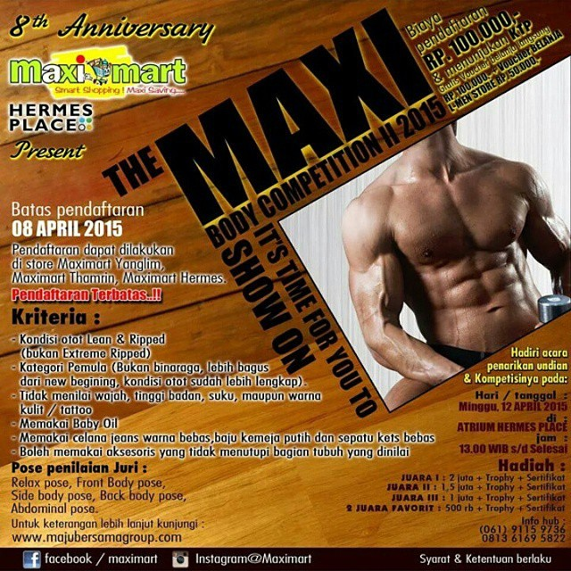 The Maxi Body Competition II 2015