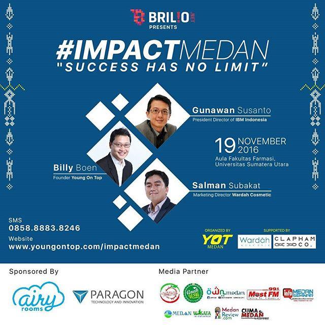 YOT : IMPACT Medan 2016