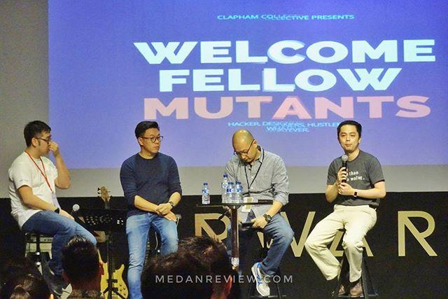 Clapham Startupfest 2017 : Investor Panel bersama Willson Cuaca, Kevin Darmawan, Edy Tan