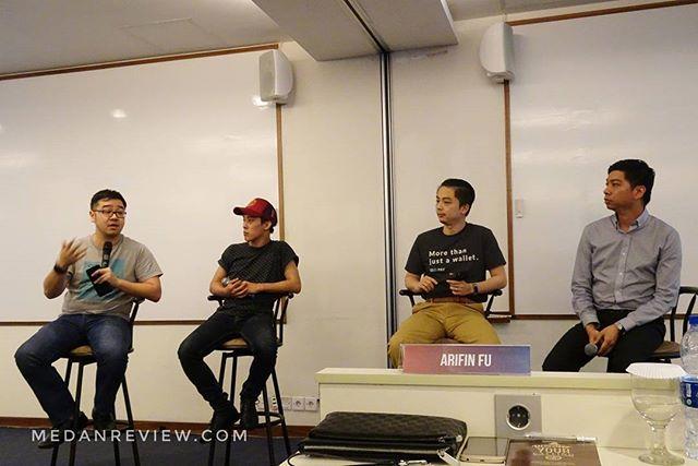 UPH Medan Business Week : Business Talk 2017