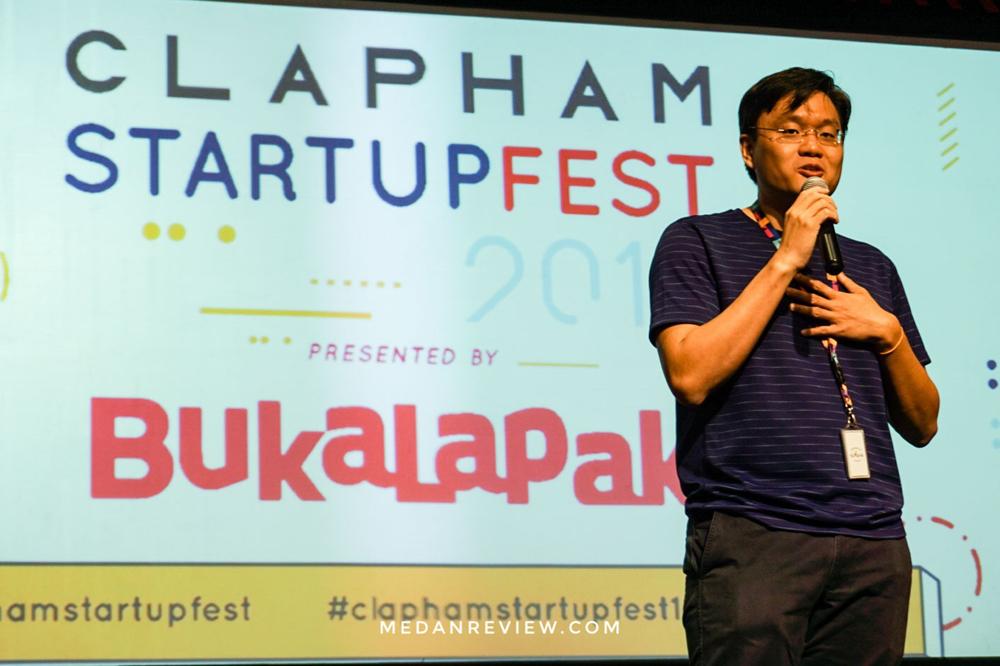 Clapham Startupfest 2018 Ajang Berkumpul Pelaku Startup Kota Medan