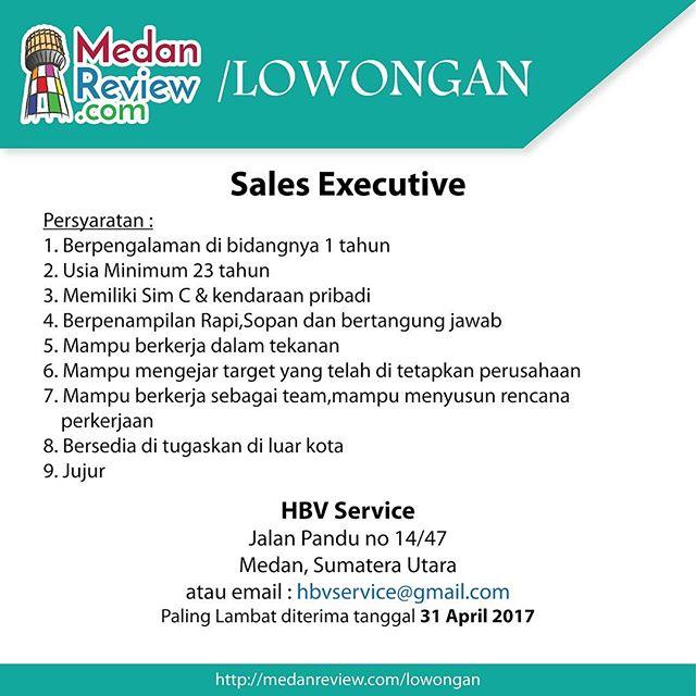 Lowongan Kerja Sales Executive di HBV Medan