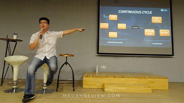 Belajar Kreatif di Behance Portfolio Reviews Medan