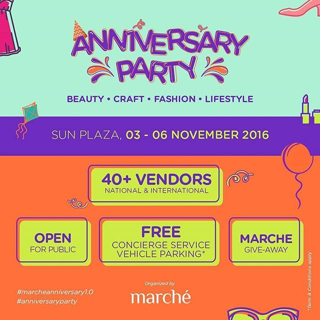 Anniversary Party @marche.ig