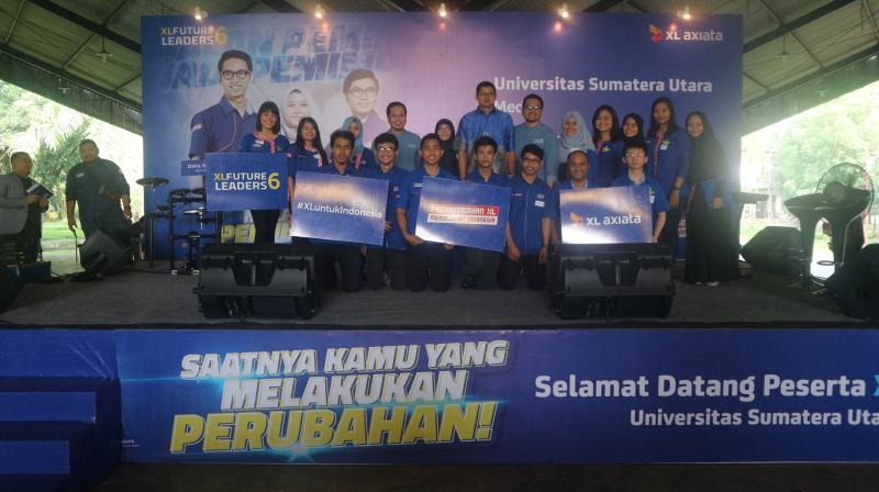Roadshow XL Future Leaders Day 6 Berlangsung Sukses di Medan