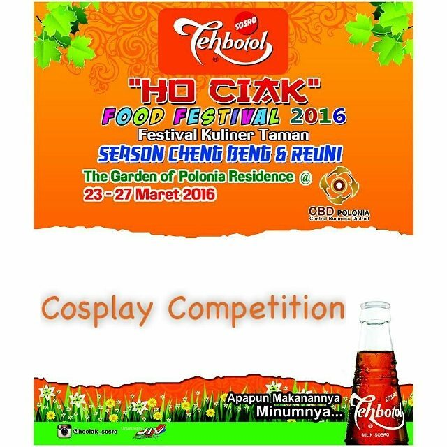 Cosplay Competition : Ho Ciak Food Festival 2016