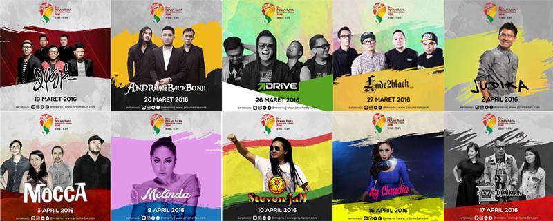 Pekan Raya Sumatera Utara (PRSU) 2016 Dimeriahkan Artis-Artis Ibukota