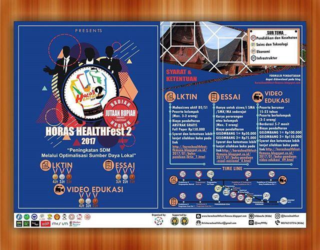 HORAS HEALTHfest 2 : Peningkatan SDM Melalui Optimalisasi Sumber Daya Lokal