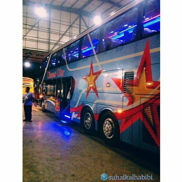 Bus Tingkat Sempati Star Medan -  Aceh