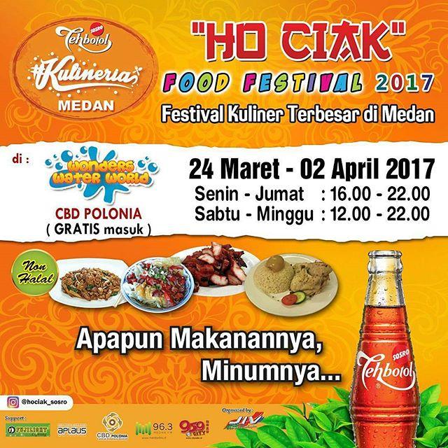 HoCiak Food Festival 2017 Dimeriahkan Dance Competition dan HoCiak's Got Talent