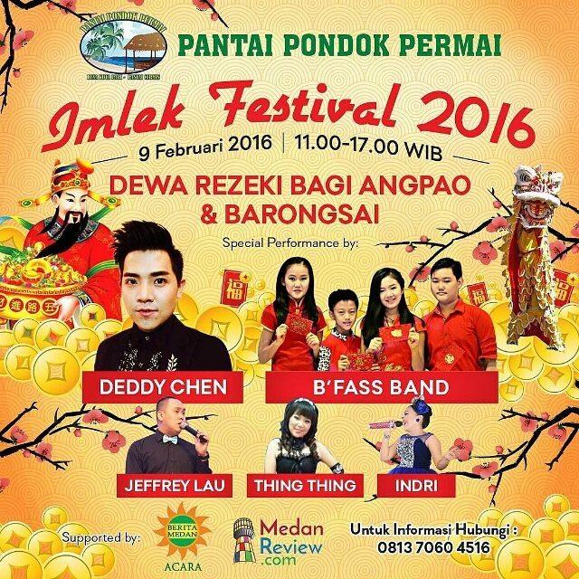 Pantai Pondok Permai : Imlek Festival 2016