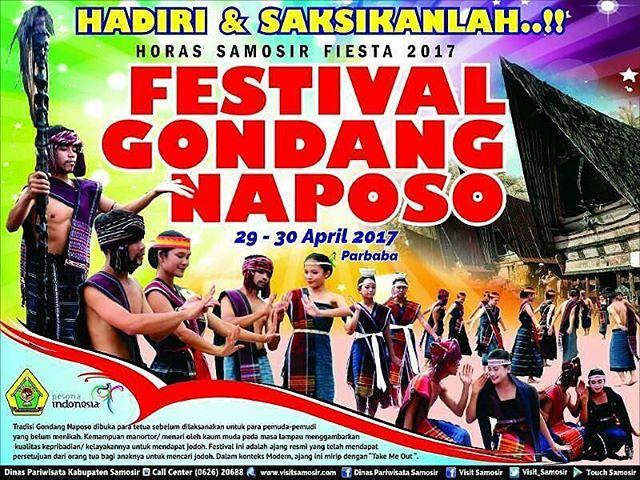 Festival Gondang Naposo 2017, Janjikan Atraksi Memikat di Destinasi Danau Toba
