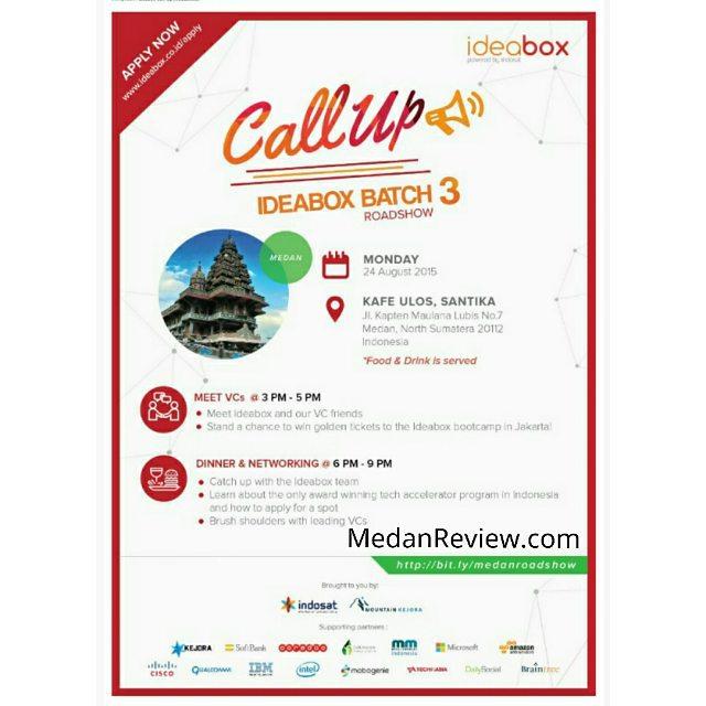 Ideabox Batch 3 Roadshow Medan