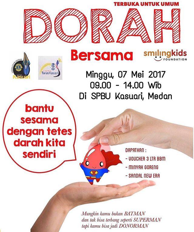 Donor Darah Bersama Komunitas Organisasi Sosial Lions Club Medan Kasuari