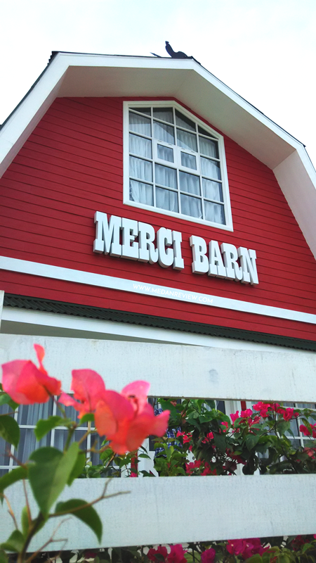 Merci Barn Front View