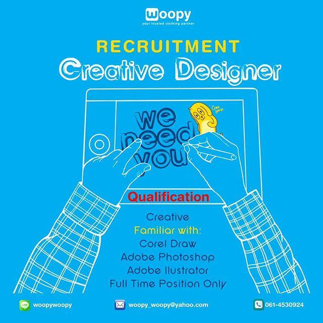 WOOPY - Lowongan Kerja Creative Designer