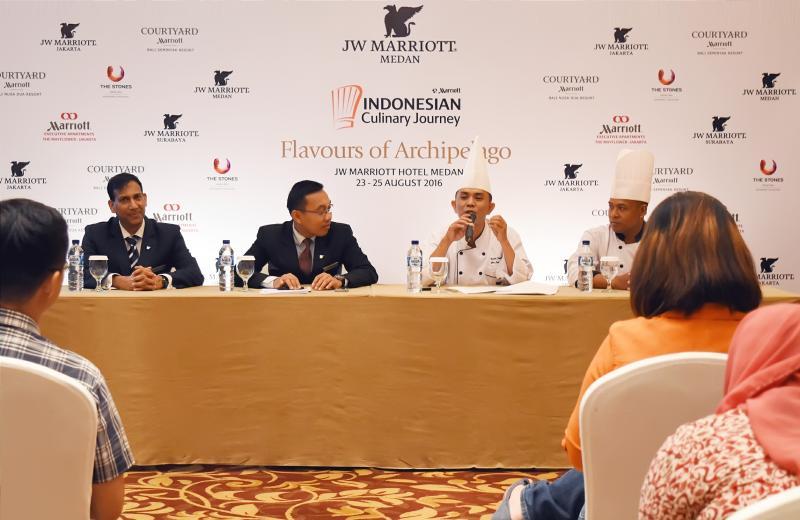 Marriott International Adakan Roadshow Kuliner Khas Indonesia Pertama di 4 Kota Besar Indonesia