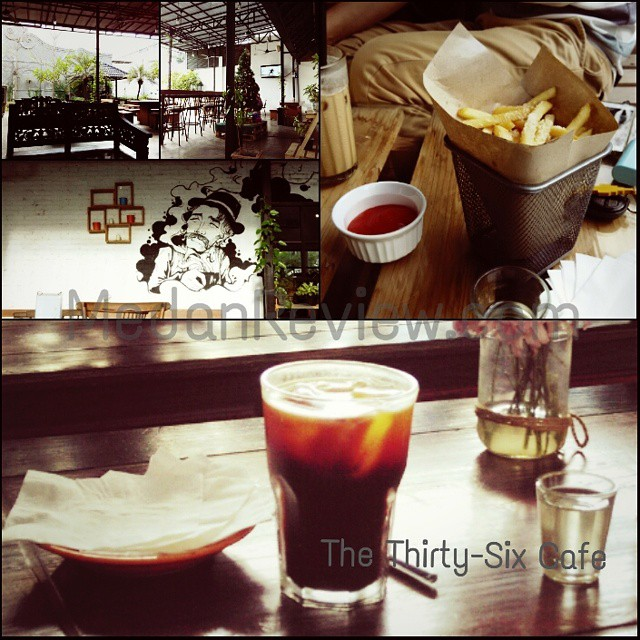 The Thirty-Six Cafe, Medan