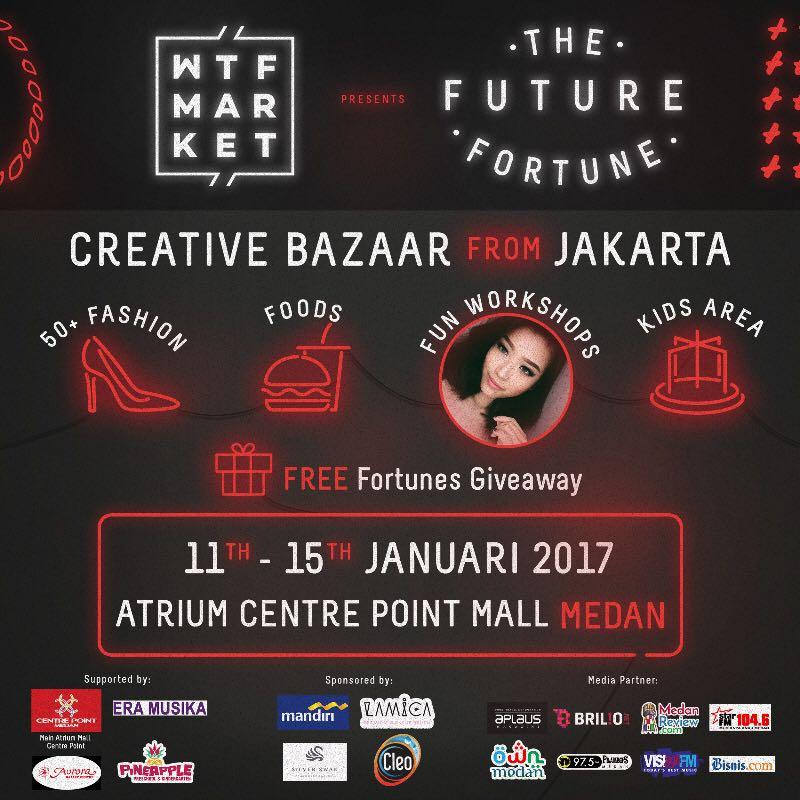 Centre Point Mall x WTF Market : The Future Fortune - Creative Bazaar
