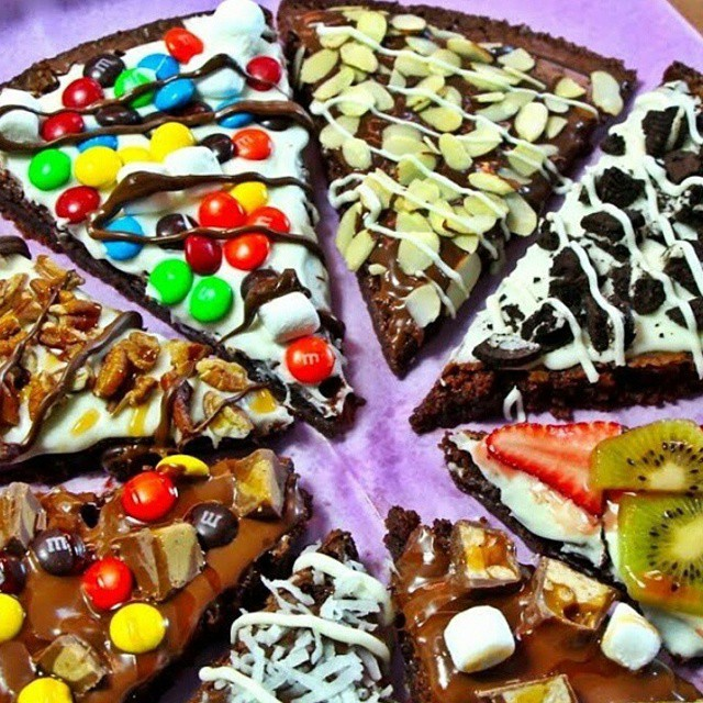 Brownies Pizza