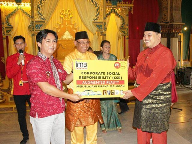 Indosat Ooredoo Melestarikan Warisan Budaya Bangsa Melalui Aplikasi Augmented Reality (AR) Istana Maimoon