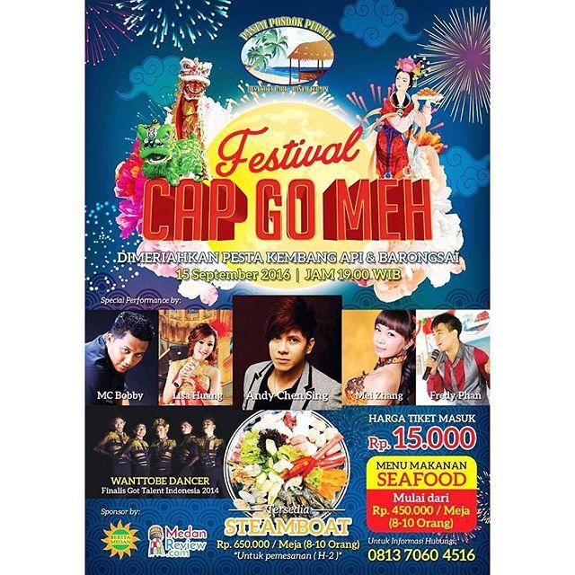 Festival Cap Go Meh Pantai Pondok Permai 2016