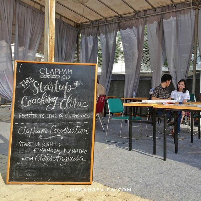 Coaching Clinic di booth Clapham Collective