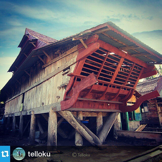 Custom home Nias at Tello Island, South Nias, North Sumatera, Indonesia.