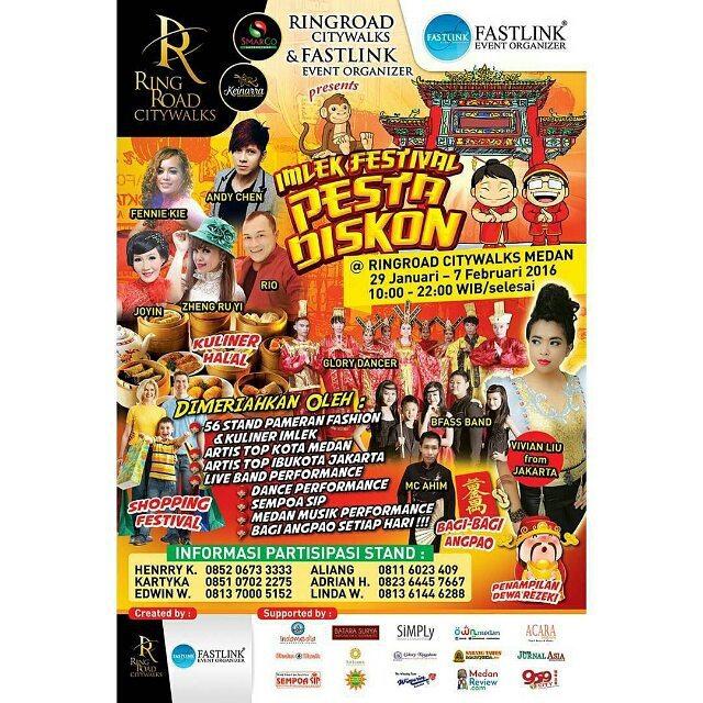 Imlek Festival Pesta Diskon 2016