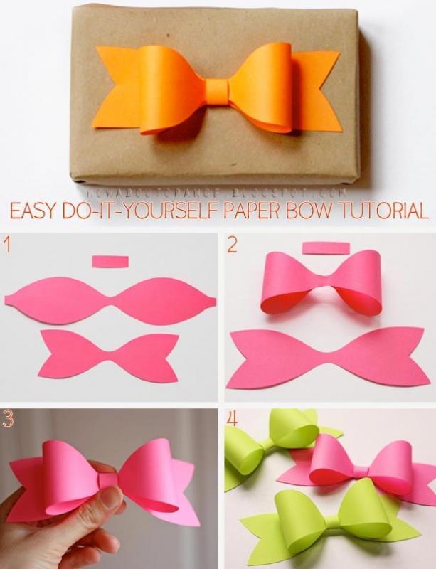 Diy Membuat Pita Cantik Dari Kertas Warna Tips Trik Dan Medan